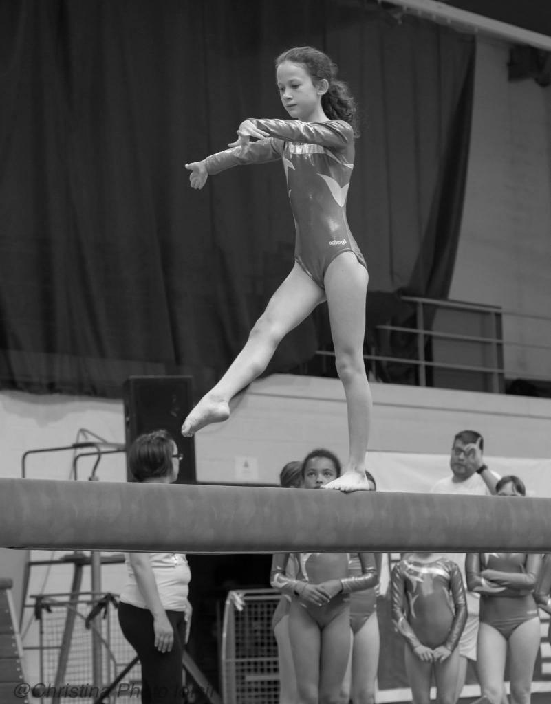 13 Passage  barres, poutres (Gymnastes compétition - groupe 3)