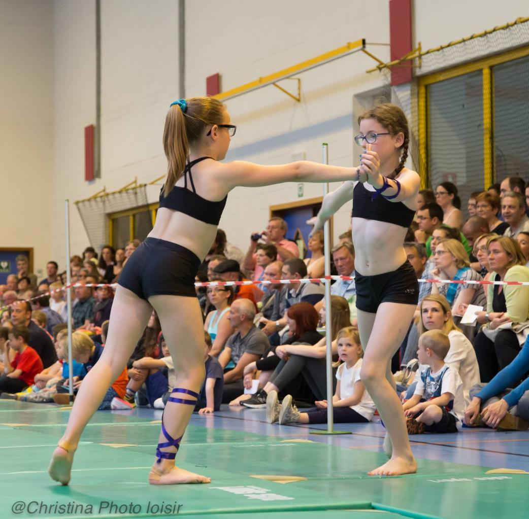 14 Passage Sol (Gymnastes compétition mouvement 3)
