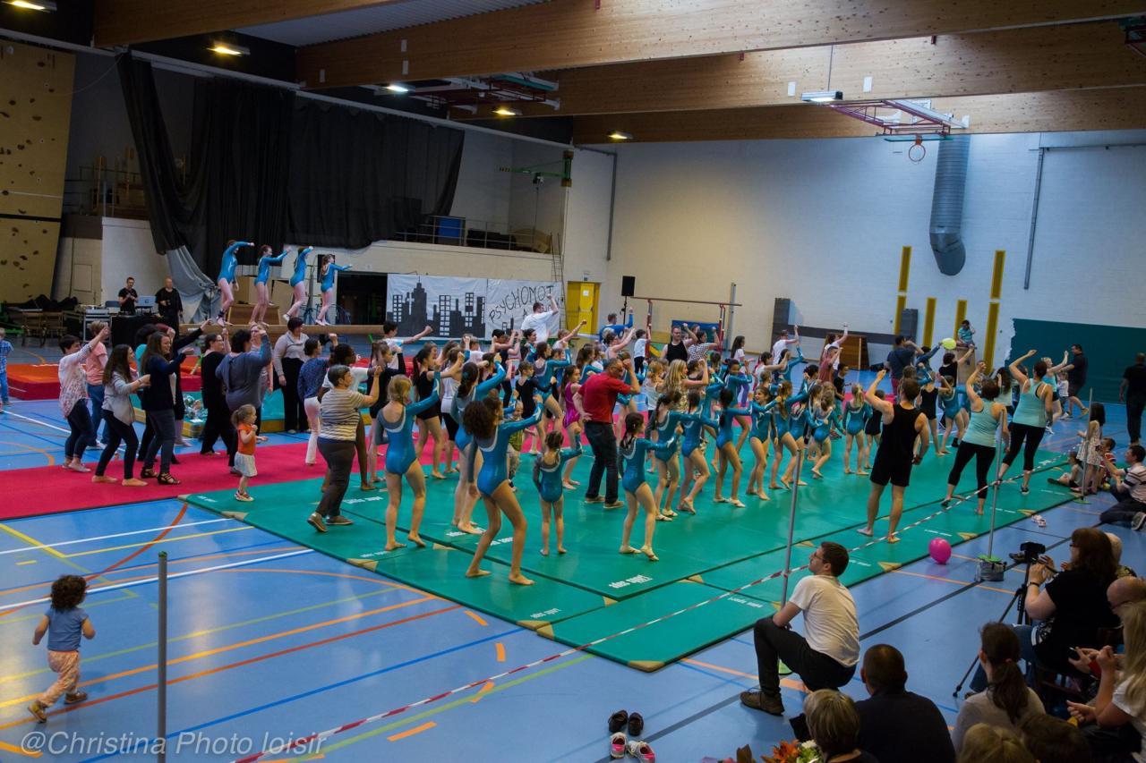 Le 29-05-2016, 4ème Démonstration du Gym Club Soignies