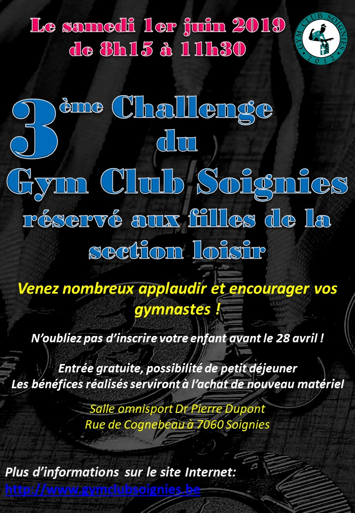 Le 01/06/2019 3ème Challenge Loisir 2019