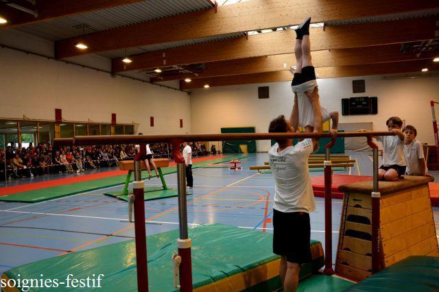 Le 03-05-2015, 3ème démonstration annuelle du Gym Club Soignies