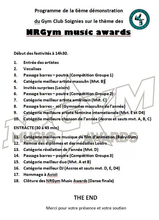 Programme nrgym 1
